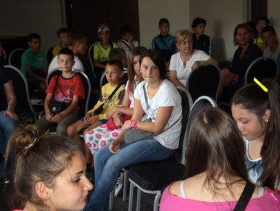 """Камп """"Школа живота образовање о животу са дијабетесом"""" у Бањи Врућици. / Фото: СРНА"""