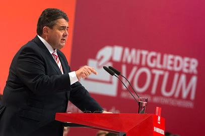 Потпредседник владе Ангеле Меркел – Зигмар Габријел