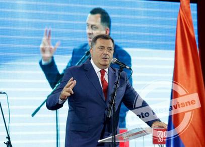 МИЛОРАД ДОДИК, на предизборној конвенцији СНСД у Лакташима