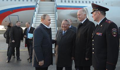 """Путин даје знак за почетак градње гасовода """"Снага Сибира"""" / © Фото: РИА Новости/Алеxеи Друзхинин"""