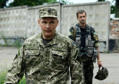 Украјински министар одбране Валериј Гелетеј