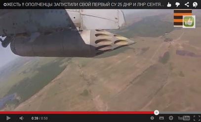 Новоросија укључила у борбе свој први авион – од Украјинаца преотети Су-25