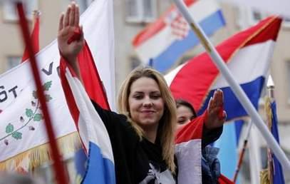 Усташки поздрав / Фото: Србија Данас