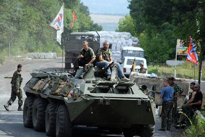 Почело одбацивање украјинских снага од Доњецка