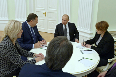 Предсједник РС, Милорад Додик и  Предсједник Русије, Владимир Путин