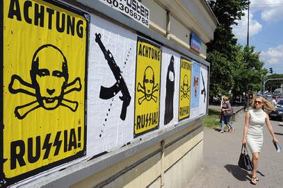 Русија - фашистичка земља за Запад? Путин - отров за Немце?
