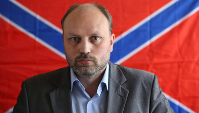 """Вођа """"Славјанске гвардије"""" Владимир Рогов"""