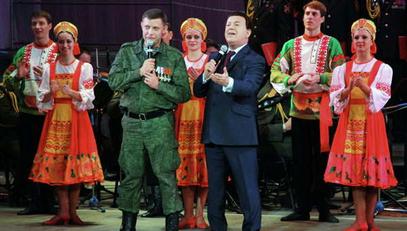 Александар Захарченко  и   Јосиф Кобзон
