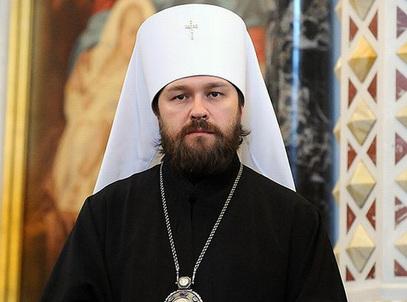 Шеф синодалног Одељења спољних црквених веза митрополит Иларион