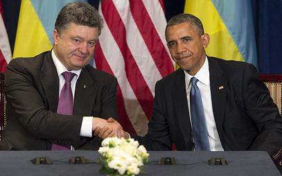 Амерички председник Барак Обама и Петар Порошенко