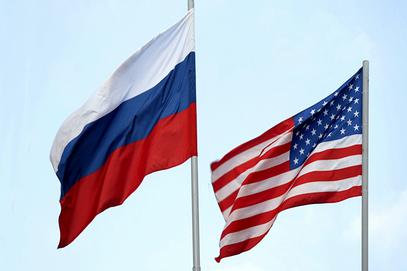 Руска и америчка застава