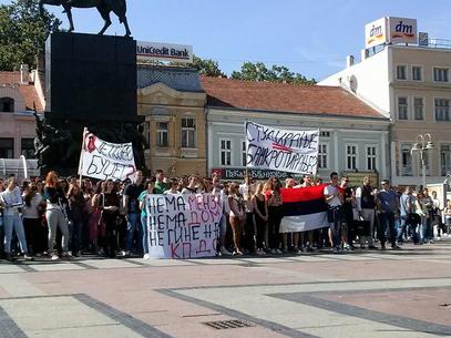 Студенти пишу ћирилицом, а њихови професори? / Фото: Петар Челебић