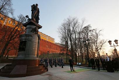 У Москви постављен споменик великом императору Александру I