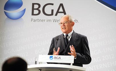 Антон Бернер, шеф немачког Федералног удружења за трговину на велико и спољну трговину