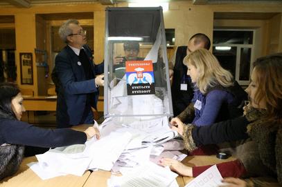 Пребројавање гласова у Доњецку