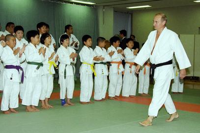 """Путин 2000. године у Дворцу борилачких вештина """"Кодокан"""""""