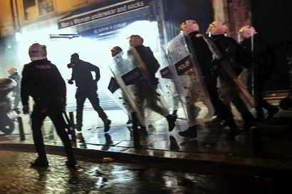 Турска полиција на улици