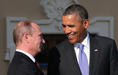 Председник Русије Владимир Путин и председник САД Барак Обама