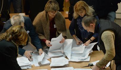 Пребројавање гласова у Донбасу / © Фото: РИА Новости/ Алексеј Куденко