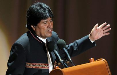 Боливијски председник Ево Моралес
