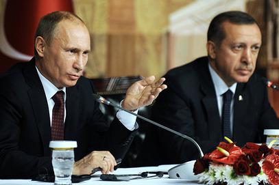 Путин са Eрдоганом у Aнкари