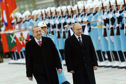 Владимир Путин и Реџеп Ердоган