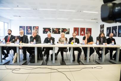 """Округли сто """"60 година након Новосадског договора: Српска језичка политика данас"""" / Фото: ФБР"""