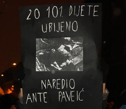 20.101 дијете убијено. Наредио Анте Павелић.