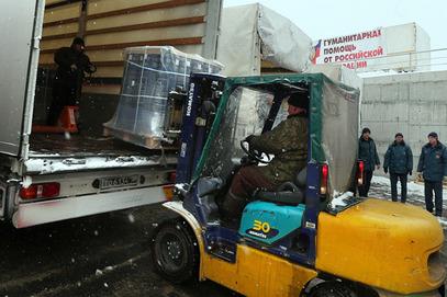 У Доњецк стигло 50, а у Луганск 80 тона хуманитарне помоћи из Русије