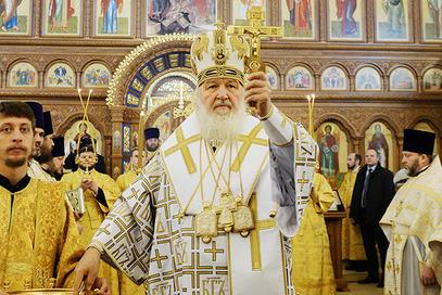 Кирил освештао цркву Александра Невског у Калињинграду