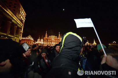 """Московска полиција привела 100 учесника подршке """"Американцу"""""""