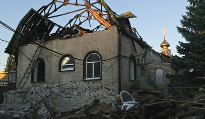 Нису поштедели ни цркву, ни школу, ни болницу... / © Фото: РИА Новости