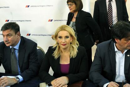 Зорана Михајловић и део екопе не власти из СНС-а