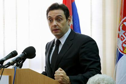 Министар за рад, запошљавање, социјална и борачка питања Александар Вулин