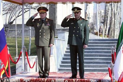 Сергеј Шојгу и Хусеин Дехган