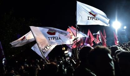 Победа левичарске партије Сириза у Грчкој