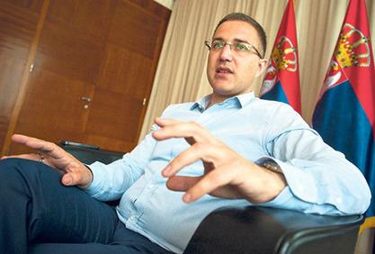 Министар унутрашњих послова и потпредседник СНС Небојша Стефановић