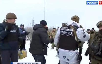 Уочи Божића украјински војници и устаници разменили поклоне