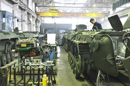 Украјина објавила да ће производити по 120 тенкова годишње
