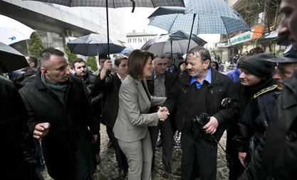 Председница Косова Атифете Јахјага
