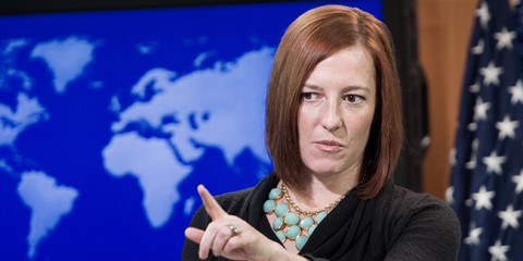 Портпарол Стејт департмана Џен Псаки: Индиректни рат САД са Русијом није у интересу ни Украјине ни света