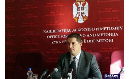 Директор владине Канцеларије за Косово и Метохију, Марко Ђурић