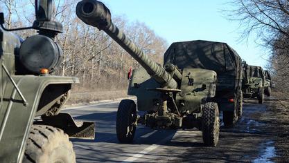 Министарство одбране ДНР: Повлачимо тешко наоружање на четири правца