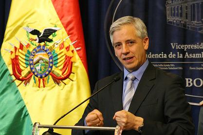 Потпредседник Боливије Алваро Гарсија