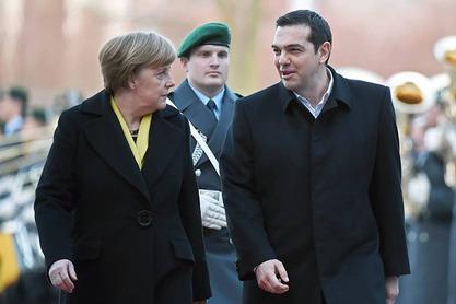 Ангела Меркел и Алексис Ципрас
