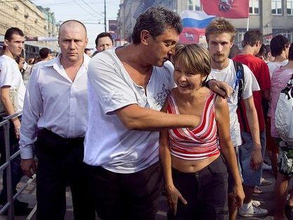 Евгениja Чирикова и Борис Немцов