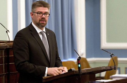 Министар спољних послова Гунар Браги Свеинсон