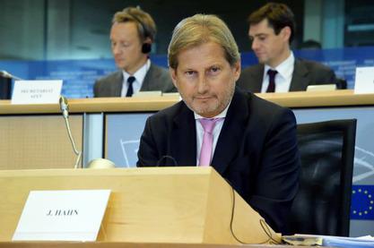 Комесар Европске уније Јоханес Хан