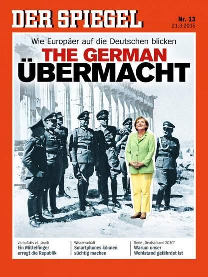 Шпигл (Der Spiegel) Меркелову поставио у друштво са Хитлеровим доглавницима