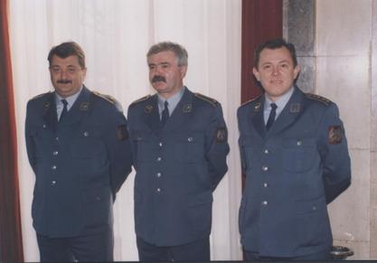 Златомир Богдановић (први с лева)